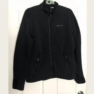 Marmot Black Jacket Polartec Lightweight  M